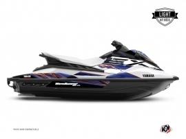 Graphic Kit Jet-Ski Mission Yamaha EX White Blue LIGHT