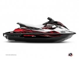 Graphic Kit Jet-Ski Mission Yamaha EX White Red