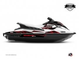 Graphic Kit Jet-Ski Mission Yamaha EX White Red LIGHT