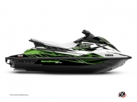 Graphic Kit Jet-Ski Mission Yamaha EX White Green