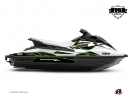 Graphic Kit Jet-Ski Mission Yamaha EX White Green LIGHT