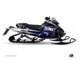 Yamaha FX Nitro Snowmobile MISSION Graphic kit Blue