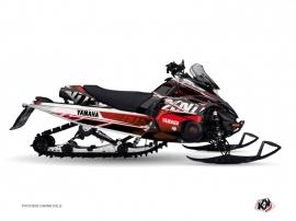 Yamaha FX Nitro Snowmobile MISSION Graphic kit Red