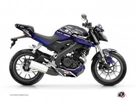 Yamaha MT 125 Street Bike Mission Graphic Kit Blue