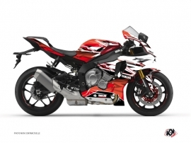 Graphic Kit Street Bike Mission Yamaha R1 Red