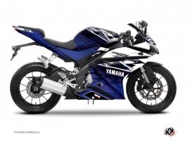 Yamaha R125 Street Bike Mission Graphic Kit Blue