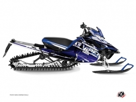 Yamaha SR Viper Snowmobile Mission Graphic Kit Blue
