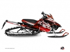 Yamaha SR Viper Snowmobile Mission Graphic Kit Red