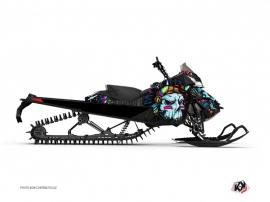 Graphic Kit Snowmobile Nativ Skidoo REV-XM Blue