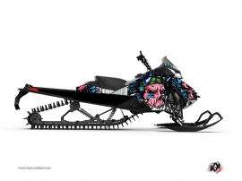 Graphic Kit Snowmobile Nativ Skidoo REV-XM Pink