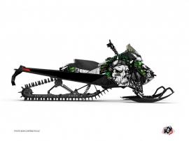 Graphic Kit Snowmobile Nativ Skidoo REV-XP White