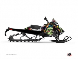 Graphic Kit Snowmobile Nativ Skidoo REV-XP Green