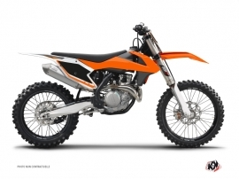 Dirt Bike KTM Plates ALFA Graphic kit
