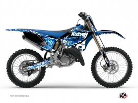 Yamaha 125 YZ Dirt Bike PREDATOR Graphic kit Blue