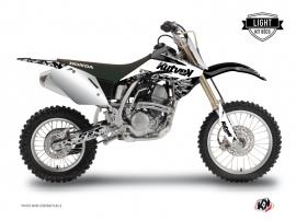 Graphic Kit Dirt Bike Predator Honda 125 CR White LIGHT