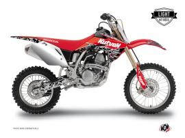 Graphic Kit Dirt Bike Predator Honda 125 CR Black Red LIGHT
