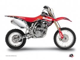 Graphic Kit Dirt Bike Predator Honda 125 CR Black Red