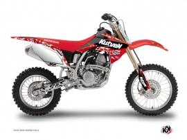 Graphic Kit Dirt Bike Predator Honda 125 CR Red