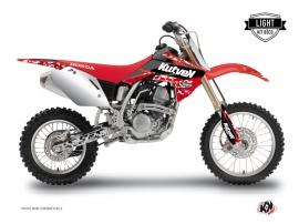 Graphic Kit Dirt Bike Predator Honda 125 CR Red LIGHT