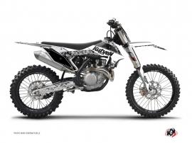 Graphic Kit Dirt Bike Predator KTM 125 SX White