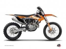 Graphic Kit Dirt Bike Predator KTM 125 SX Orange