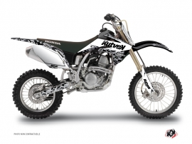 Graphic Kit Dirt Bike Predator Honda 150 CRF White
