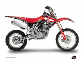 Graphic Kit Dirt Bike Predator Honda 150 CRF Black Red