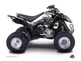 Kymco 250-300 MAXXER ATV Predator Graphic Kit White
