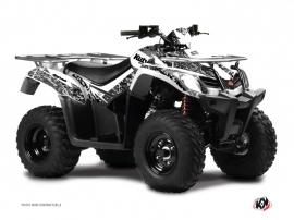 Kymco 250-300 MXU ATV Predator Graphic Kit White