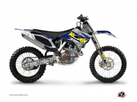 Graphic Kit Dirt Bike Predator Husqvarna FC 250 Purple Yellow