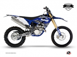 Graphic Kit Dirt Bike Predator Sherco 250 SE-R Black Blue LIGHT