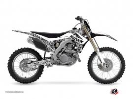 Honda 250 CRF Dirt Bike PREDATOR Graphic kit White