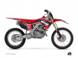 Honda 250 CRF Dirt Bike PREDATOR Graphic kit Red