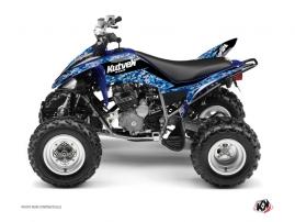 Yamaha 250 Raptor ATV PREDATOR Graphic kit Blue