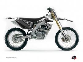 Suzuki 250 RMZ Dirt Bike PREDATOR Graphic kit White