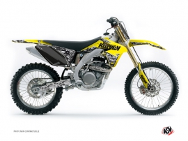 Suzuki 250 RMZ Dirt Bike PREDATOR Graphic kit Yellow