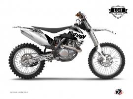 KTM 250 SX Dirt Bike PREDATOR Graphic kit White LIGHT