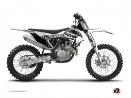 Graphic Kit Dirt Bike Predator KTM 250 SXF White