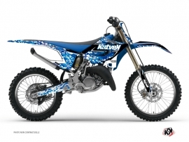 Graphic Kit Dirt Bike Predator Yamaha 250 YZ Blue