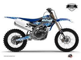 Graphic Kit Dirt Bike Predator Yamaha 250 YZF Blue LIGHT