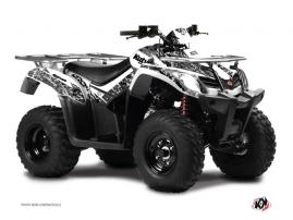 Kymco 300 MXU R ATV Predator Graphic Kit White