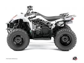 Yamaha 350-450 Wolverine ATV PREDATOR Graphic kit White