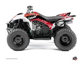 Yamaha 350-450 Wolverine ATV PREDATOR Graphic kit Red