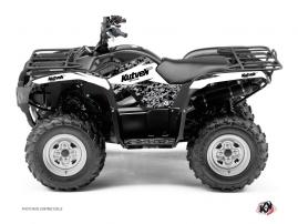 Graphic Kit ATV Predator Yamaha 350 Grizzly White