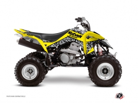 Graphic Kit ATV Predator Suzuki 400 LTZ IE Yellow