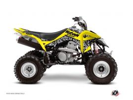 Suzuki 400 LTZ IE ATV PREDATOR Graphic kit Yellow