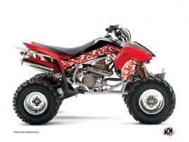 Graphic Kit ATV Predator Honda 400 TRX Red