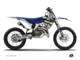 Graphic Kit Dirt Bike Predator Husqvarna FC 450 Purple Yellow