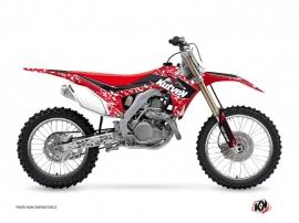 Graphic Kit Dirt Bike Predator Honda 450 CRF Red