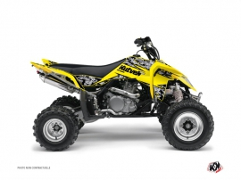 Graphic Kit ATV Predator Suzuki 450 LTR Yellow